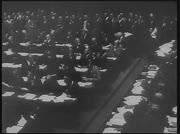 Sitzung der Vollversammlung des Völkerbundes
