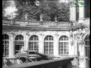Zwinger Dresden Ruinen und Wiederaufbau