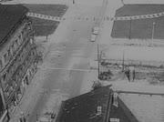 Checkpoint Charlie aus der Luft