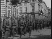 1914: deutsche Soldaten marschieren in Belgien ein:...