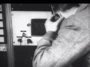Radio-Techniker an Sendestation