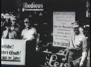 1933: Sturmabteilung (SA)-Boykottaktion gegen Juden,...
